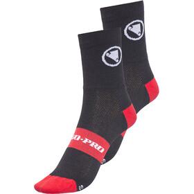 Endura FS260 Pro Socken Doppelpack schwarz